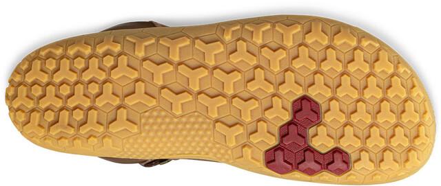 Vivobarefoot Tracker HI FG Leather Shoes Dame Brown | Gode